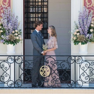 Beatrice Borromeo & Pierre Casiraghi - Civil Wedding -  Valentino