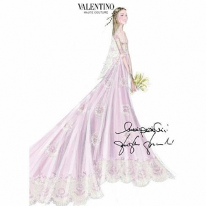 Valentino for Beatrice Borromeo