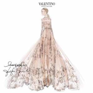 Valentino for Frida Giannini!