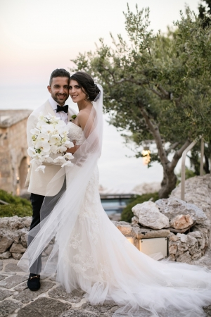 A stylish Greek Orthodox wedding from Australia in Puglia